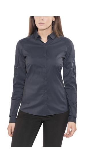 Arc'teryx Fernie LS Shirt Women Black Sapphire